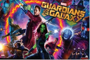Guardians of the Galaxy translite